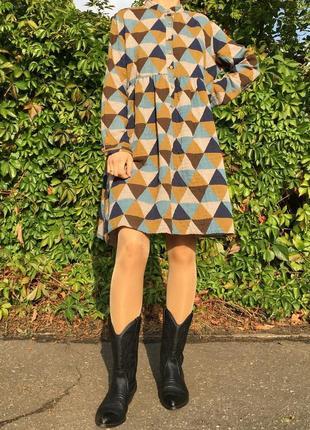 Платье в стиле печворк