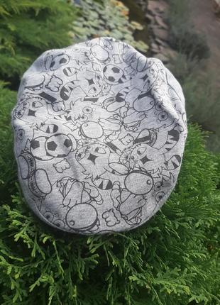 Стильная хлопковая  кепка шапка