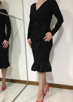 Мега крутое роскошное платье с натуральным шёлком