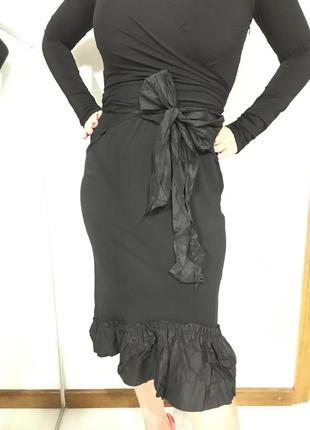 Мега крутое роскошное платье с натуральным шёлком8 фото
