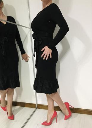 Мега крутое роскошное платье с натуральным шёлком9 фото