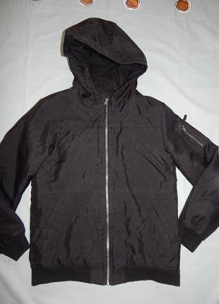 Куртка теплая демисезонная на 12-13 лет 158 см