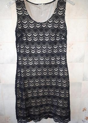 Платье monsoon кружево на подкладке