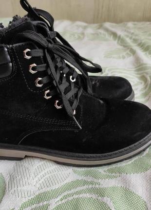Зимові ботінки, р.39, ботинки