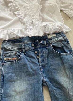 Джинсы  прямые , джинсы светлые