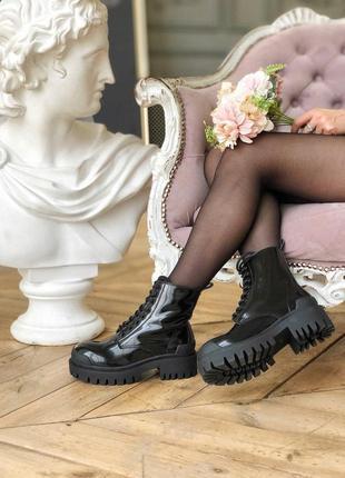 Шикарные женские ботинки balenciaga strike