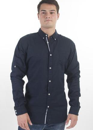 Рубашка мужская лён livergy