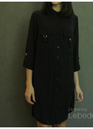 Шифоновое рубашка-платье atmosphere