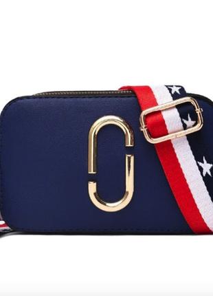 🔥 женская сумка клатч синего цвета 🔥