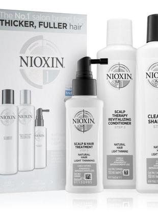 Nioxin system 1 natural hair light thinning