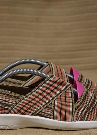 Легенькие комфортные плетеные резиновые мокасины pavers англия 38 р