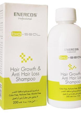 Лечебный шампунь против выпадения и для роста волос enercos professional