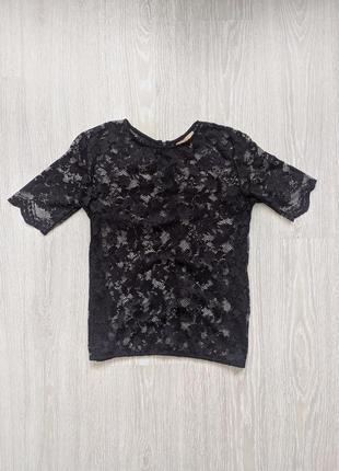Кружевна кофта (футболка) zara