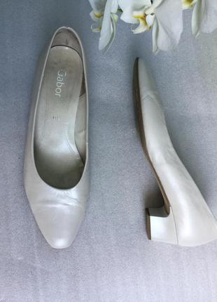 Туфли кожаные gabor 39,6