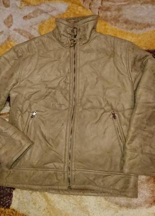 Куртка дубленка мужская