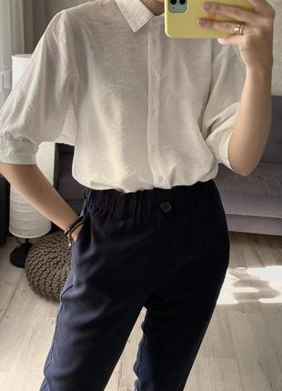 Базовая рубашка с объемными рукавами bik bok