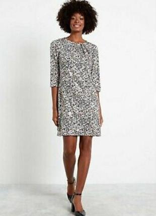 Шикарное нарядное платье с серебристой чешуйкой f&f