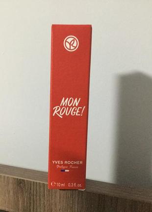 "Новинка!парфумована вода ""mon rouge"" мон руж руш 10мл ів роше ив роше yves rosher"