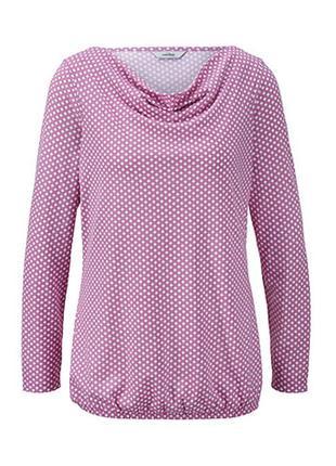 Нежная. воздушная блузка с красивым воротником tcm tchibo