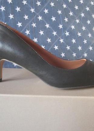 Туфли-лодочки bata натуральная кожа