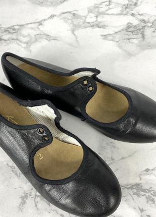 Туфли для степа katz, 2 (21 см? 34), кожзам5 фото
