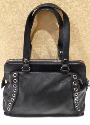 3371a09ec10b Женская сумка саквояж черная, цена - 600 грн, #5557907, купить по ...