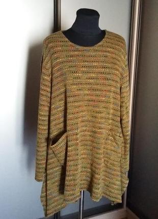 Легкий свитер в стиле бохо
