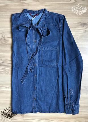 Джинсовая рубашка tom tailor