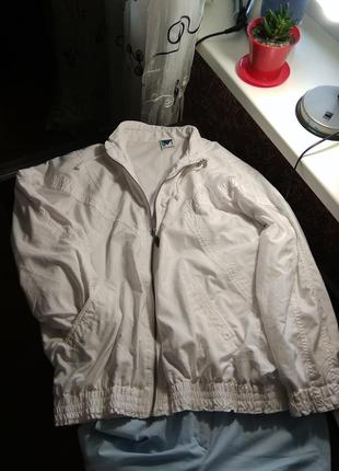 Оверсайз куртка,кофта витревка с подкладкой- s m l