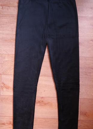 Лосины штаны велюровые на плотном  меху. верблюжья шерсть.  50-54 р