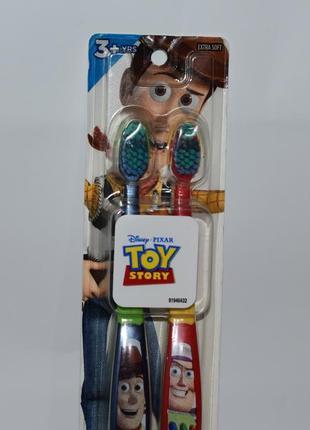 Набор 2 зубные щетки история игрушек oral b toothbrushes toy story 2 pack 3+ extra soft