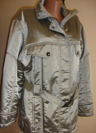 Демисезонная куртка с поясом rodeo