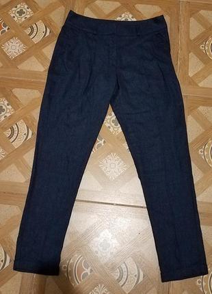Брюки женские штаны лен 36
