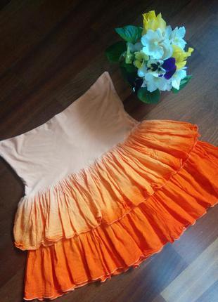 Топ юбка