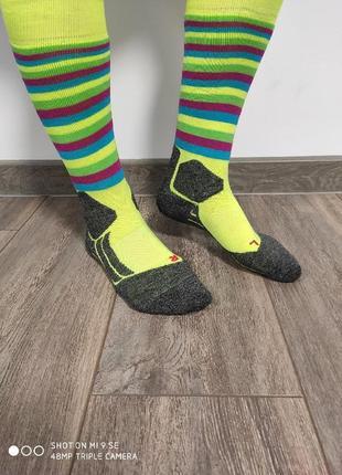 Женские лыжные термо  носки falke sk2