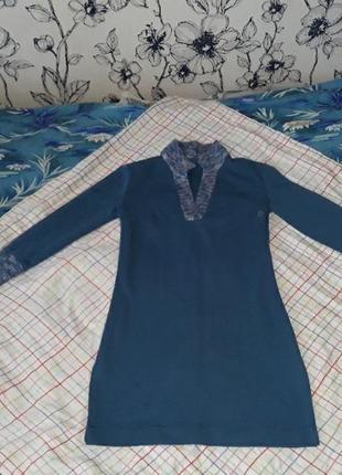 Пуловер машинная вязка