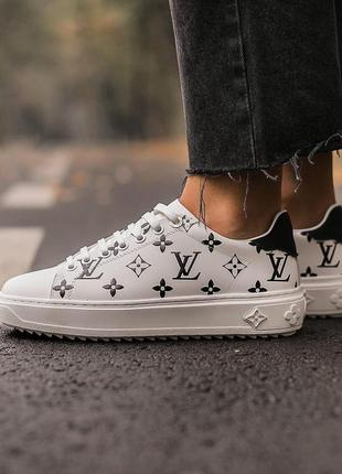 Шикарные женские кроссовки louis vuitton sneakers