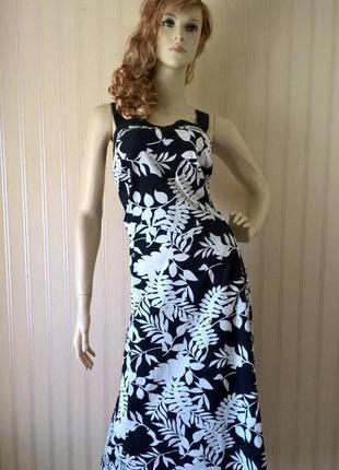Платье женское хлопок большой размер 52 6xl