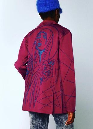 Новый брендовый дизайнерский жакет пиджак кардиган блейзер от украинского бренда