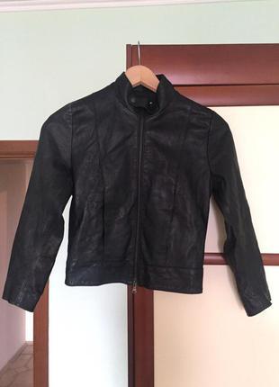 Кожаная куртка vera pelle (