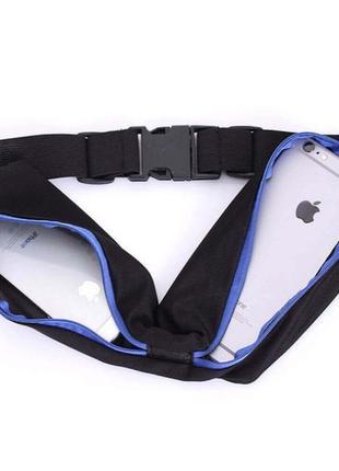 Для бігу сумка для бега спортивная на пояс для телефона велосипедиста1 фото