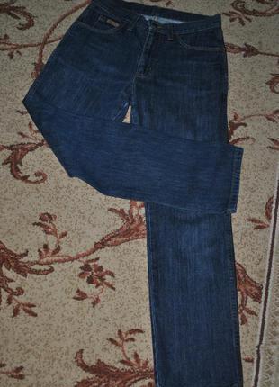 Высокие джинсы wrangler