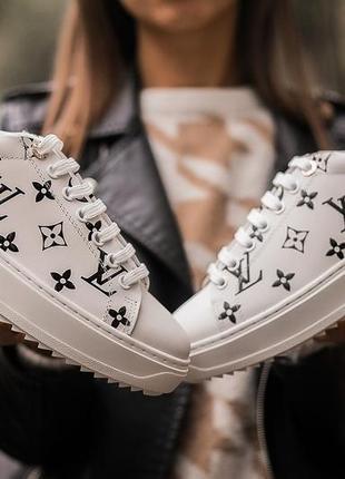 Женские кроссовки louis vuitton sneakers