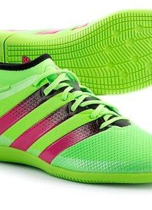 Футзалки с носком adidas ace16.3 -38р.