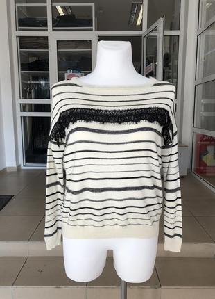 Теплый свитер в полоску бренда asos (219)