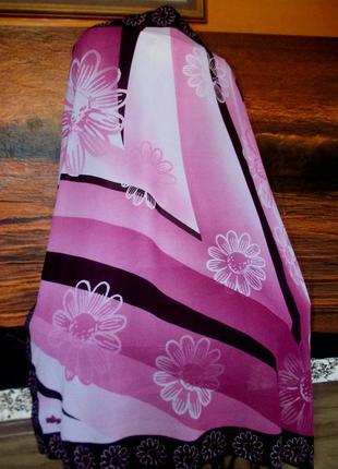 Распродажа! красивый турецкий платок большого размера 104х98см
