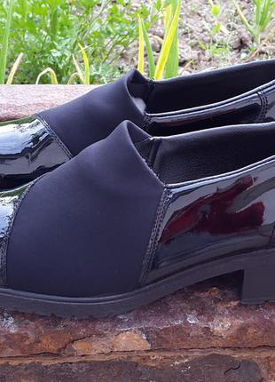 Кожаные туфли босоножки rieker 39 р. оригинал