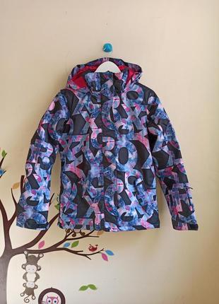 Новая лыжная зимняя куртка roxy. разм.s-m