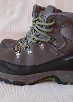 Trespass  waterproof  кожа ботинки  р.38 ст.24,5см