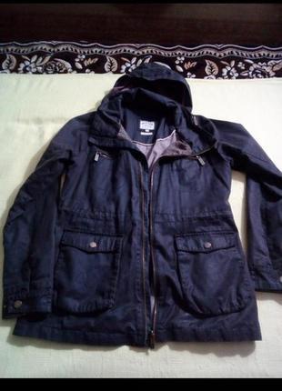 Бомбезная фирм.куртка-парка на осень